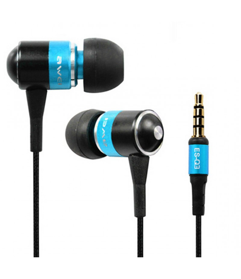 Навушники Awei ES-Q3 Blue