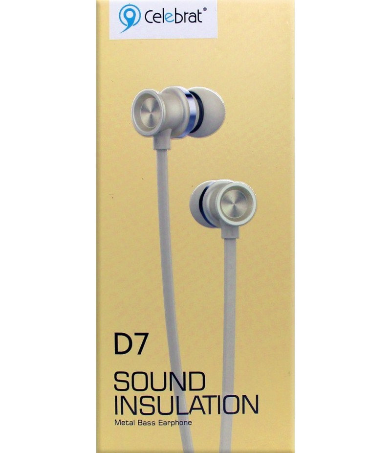 Навушники Celebrat D7 Gold
