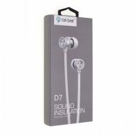 Навушники Celebrat D7 White