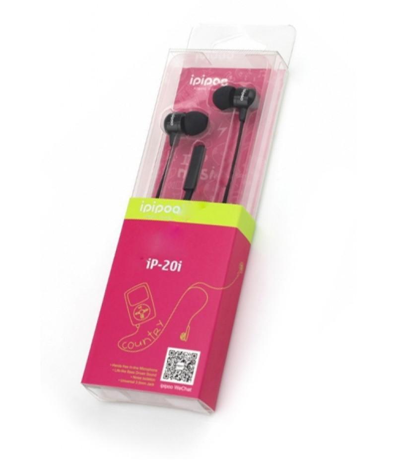 Навушники Ipipoo ip-20i black