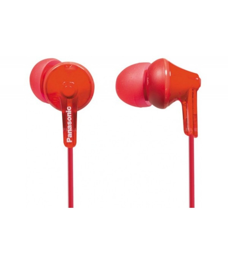 Наушники Panasonic RP-HJE125 red