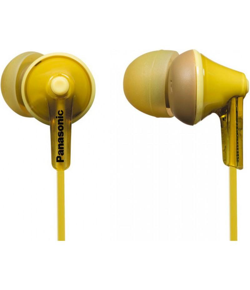 Наушники Panasonic RP-HJE125 Yellow
