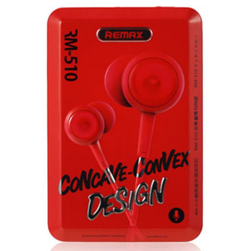 Навушники Remax RM-510 Earphone Red