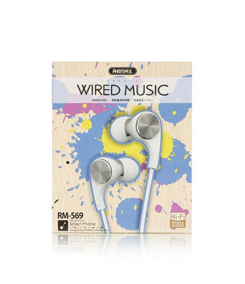 Наушники Remax RM-569 WireWhite