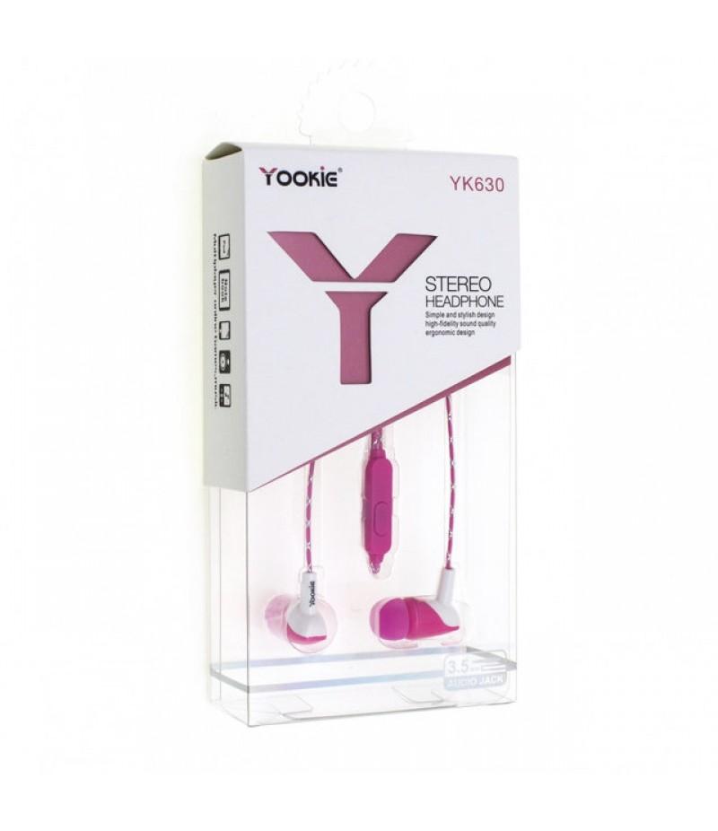 Навушники Yookie YK630 Pink