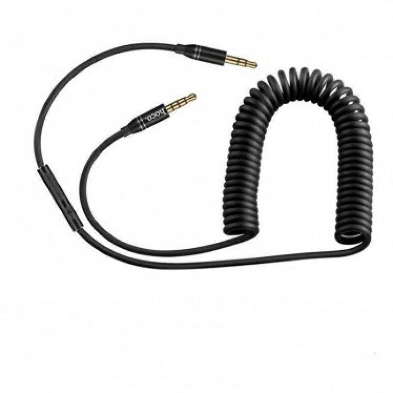 AUX кабель Hoco UPA05 Yueyin Black