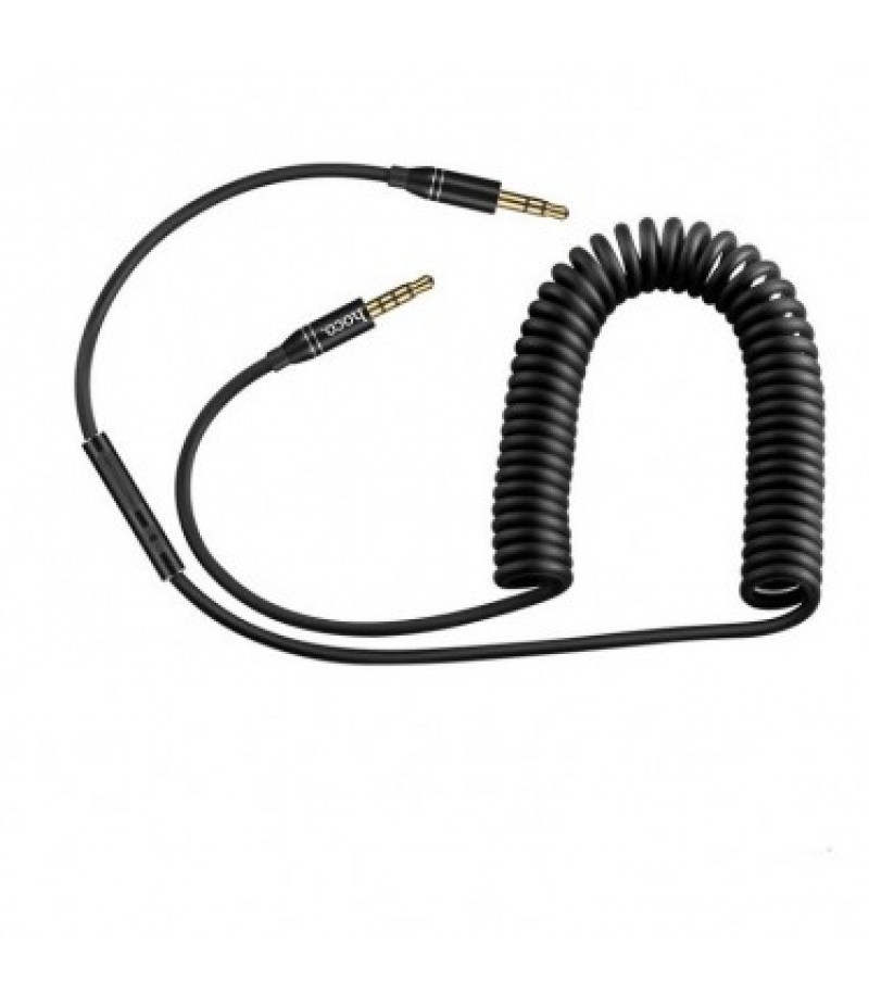 AUX cable Hoco UPA05 black