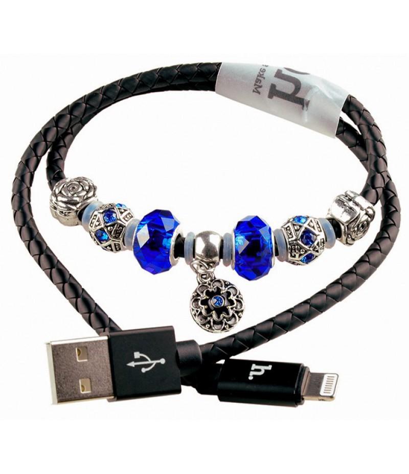 Usb cable Hoco Pandora Lightning black