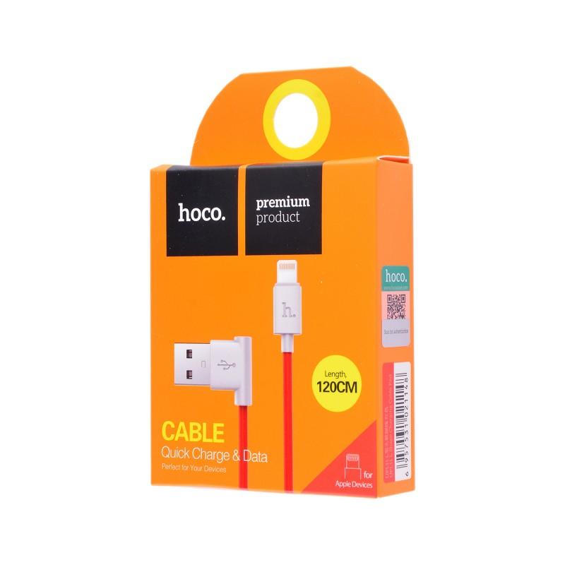 USB кабель Hoco UPL11 Lightning 1,2m Red