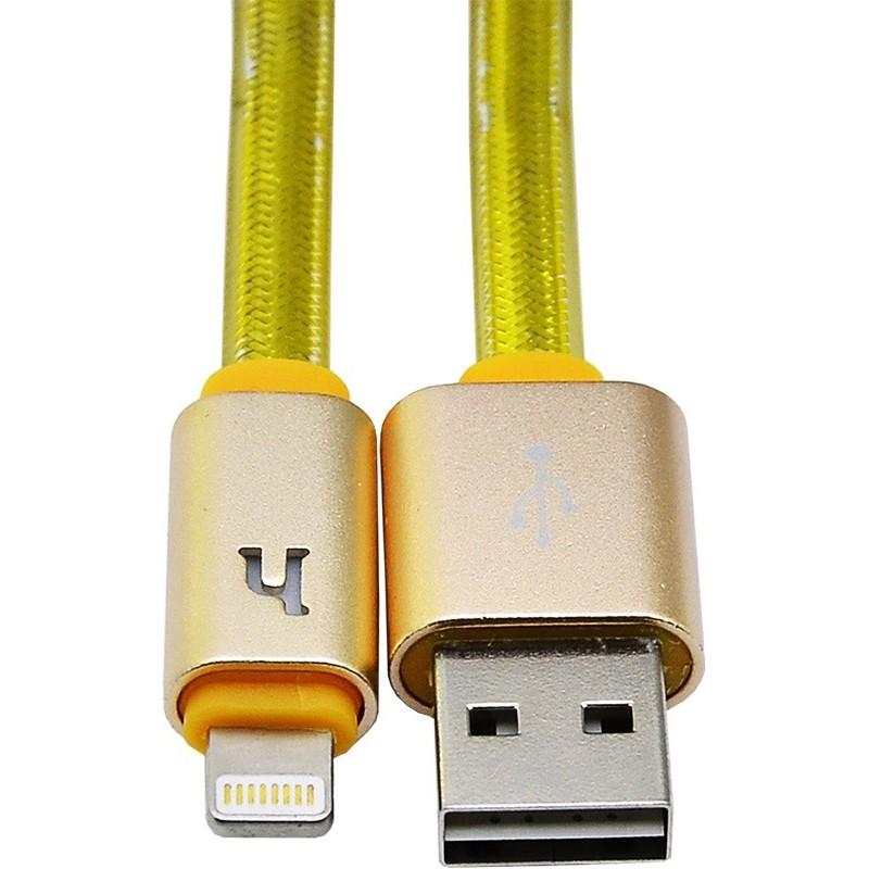 Usb cable Hoco UPL12 lightning 2m gold