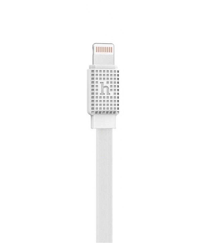 USB кабель Hoco UPL18 Waffle Lightning 1.2m White
