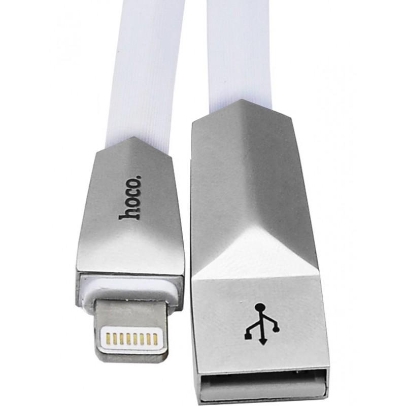 Usb cable Hoco X4 Lightning white