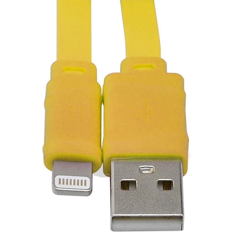 Usb cable Hoco X5 Bamboo Lightning 1m Yellow