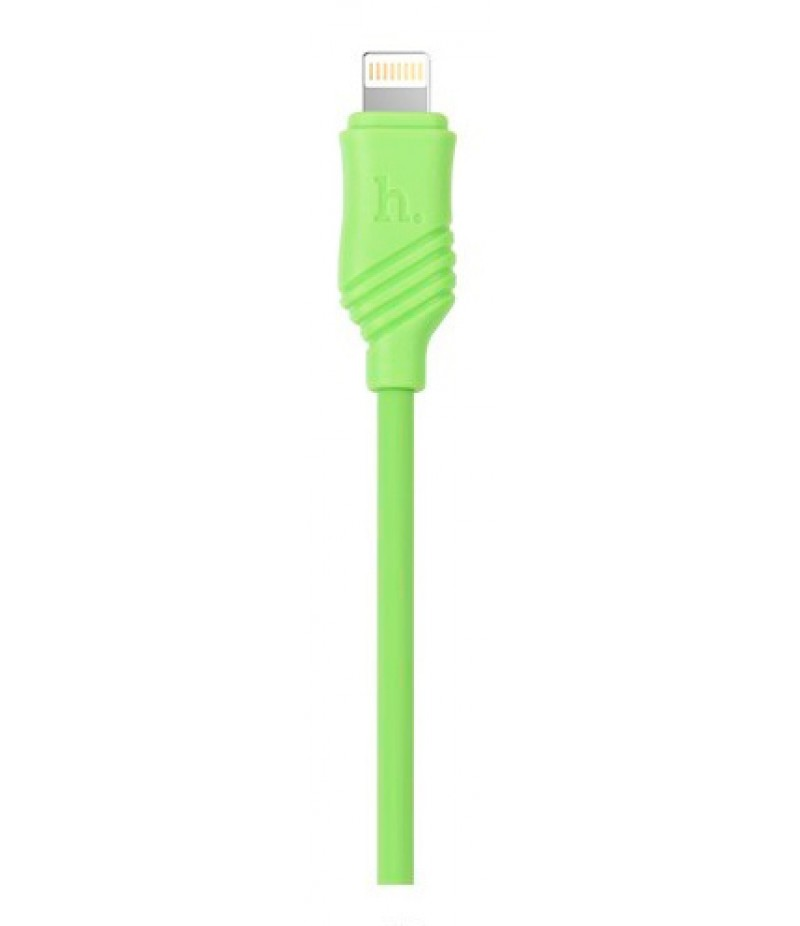 Usb cable Hoco X6 Lightning green