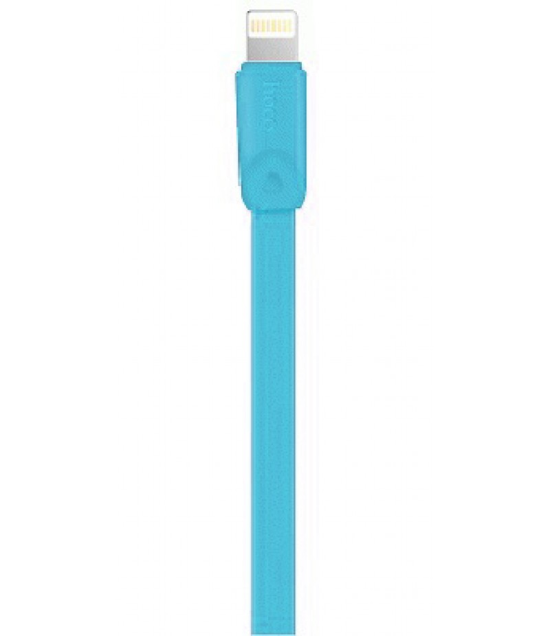 Usb cable Hoco X9 Lightning blue