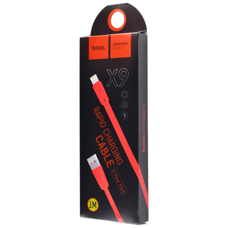 USB кабель Hoco X9 Lightning 2m Red