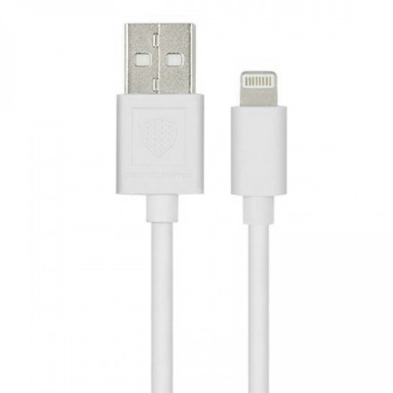 USB кабель Inkax CK-01 Lightning 1m White