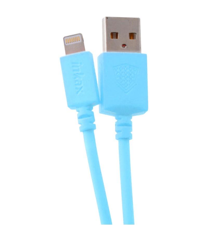 USB кабель Inkax CK-08 Lightning 2m Blue
