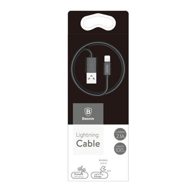 USB кабель Baseus Yaven microUSB 1m Black