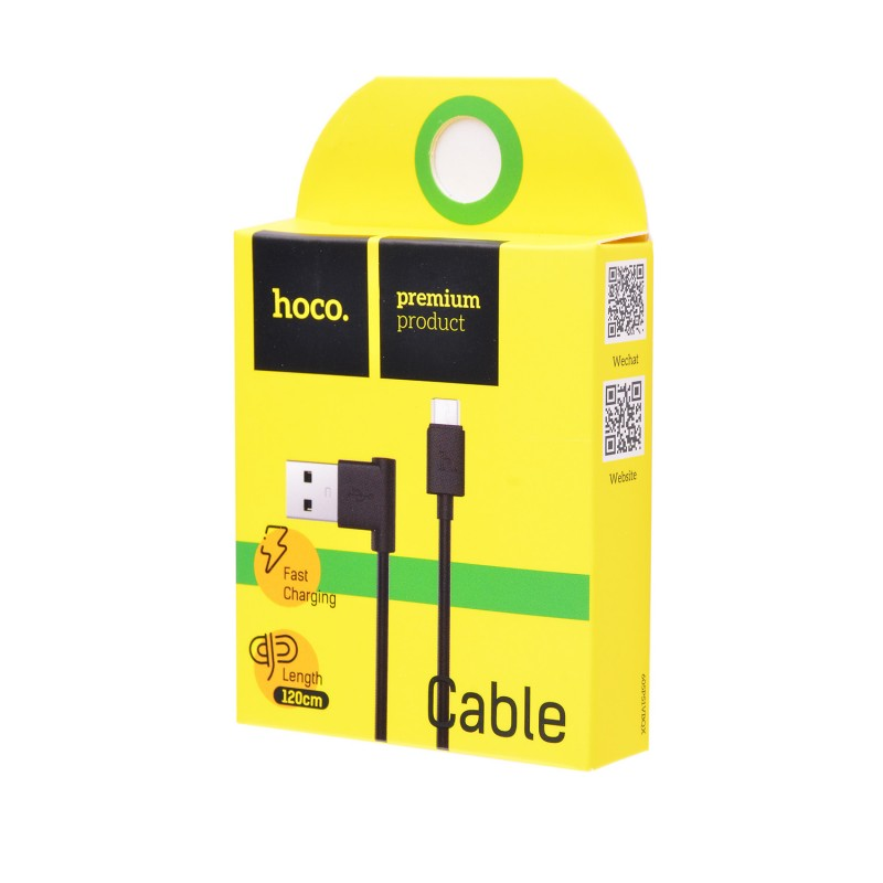 USB кабель Hoco UPM10 microUSB 1,2m black