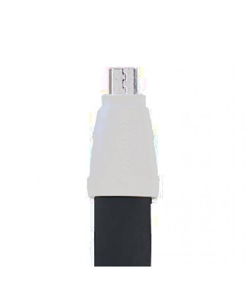 USB кабель Remax RC-011i Full Speed 2 microUSB 1m Black
