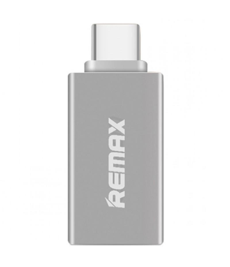 OTG переходник Remax Type-C/USB Silver