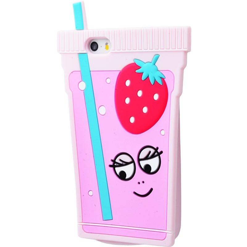 3D чохол Coctailе Pink iphone 5
