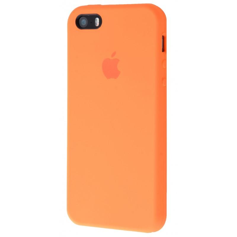 Original Silicone Case (Copy) for IPhone 5/5s/SE Apricot
