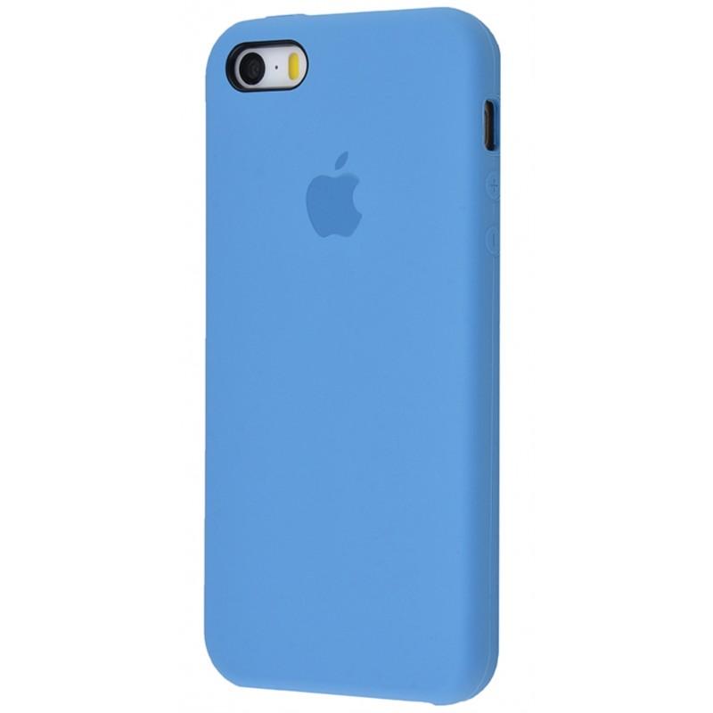 Original Silicone Case (Copy) for IPhone 5/5s/SE Azure