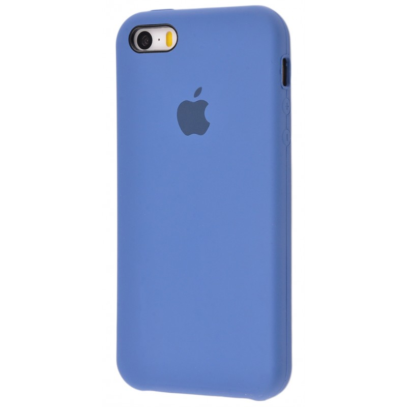 Original Silicone Case (Copy) for IPhone 5/5s/SE Blue Cobalt
