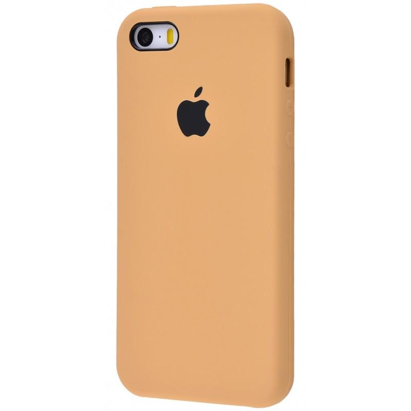 Original Silicone Case (Copy) for IPhone 5/5s/SE Beige
