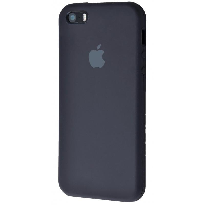 Original Silicone Case (Copy) for IPhone 5/5s/SE Black