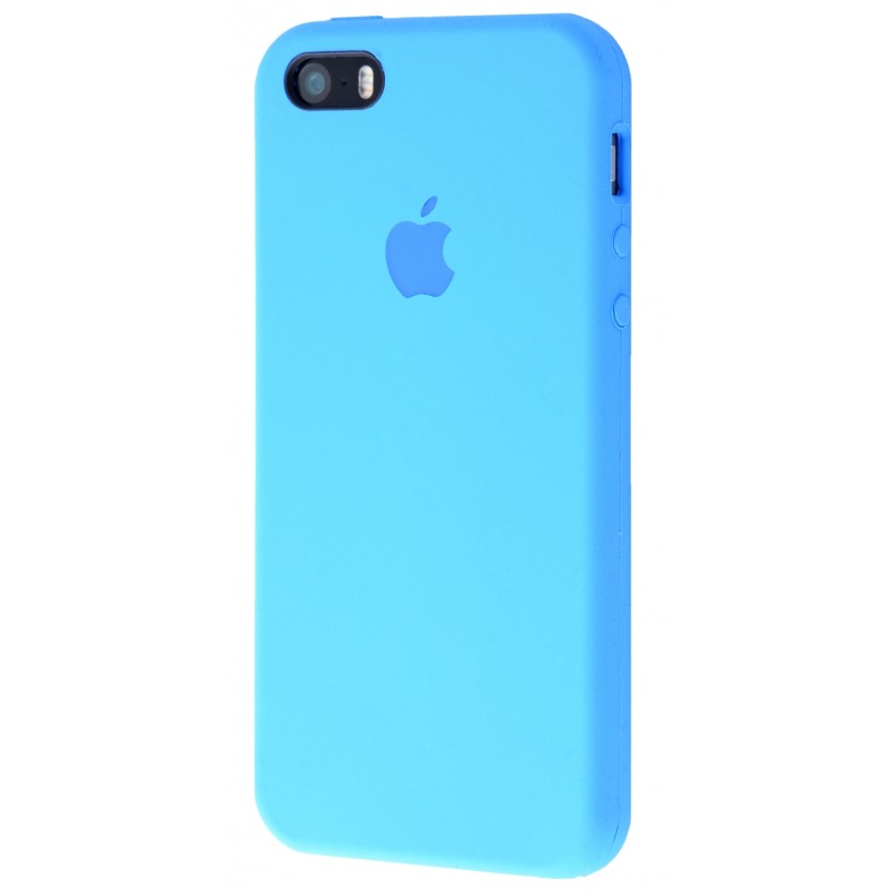 Original Silicone Case (Copy) for IPhone 5/5s/SE Blue