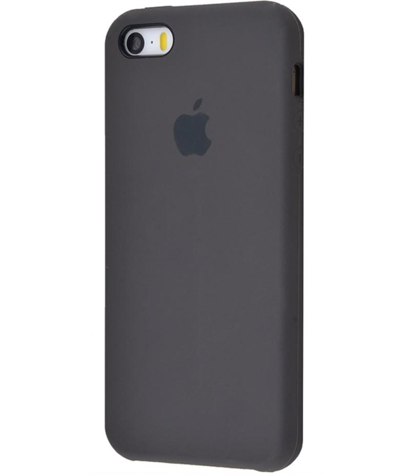 Original Silicone Case (Copy) for IPhone 5/5s/SE Cocoa
