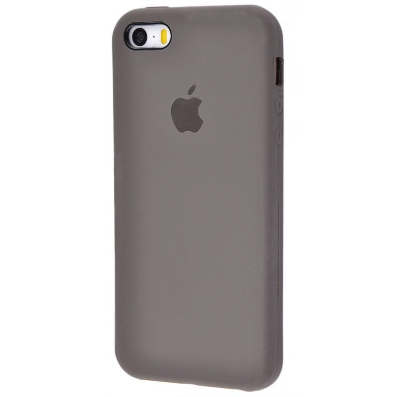 Original Silicone Case (Copy) for IPhone 5/5s/SE Dark Olive