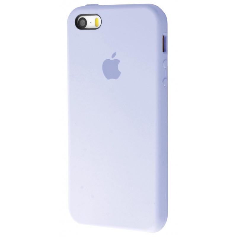 Original Silicone Case (Copy) for IPhone 5/5s/SE Lilac Cream