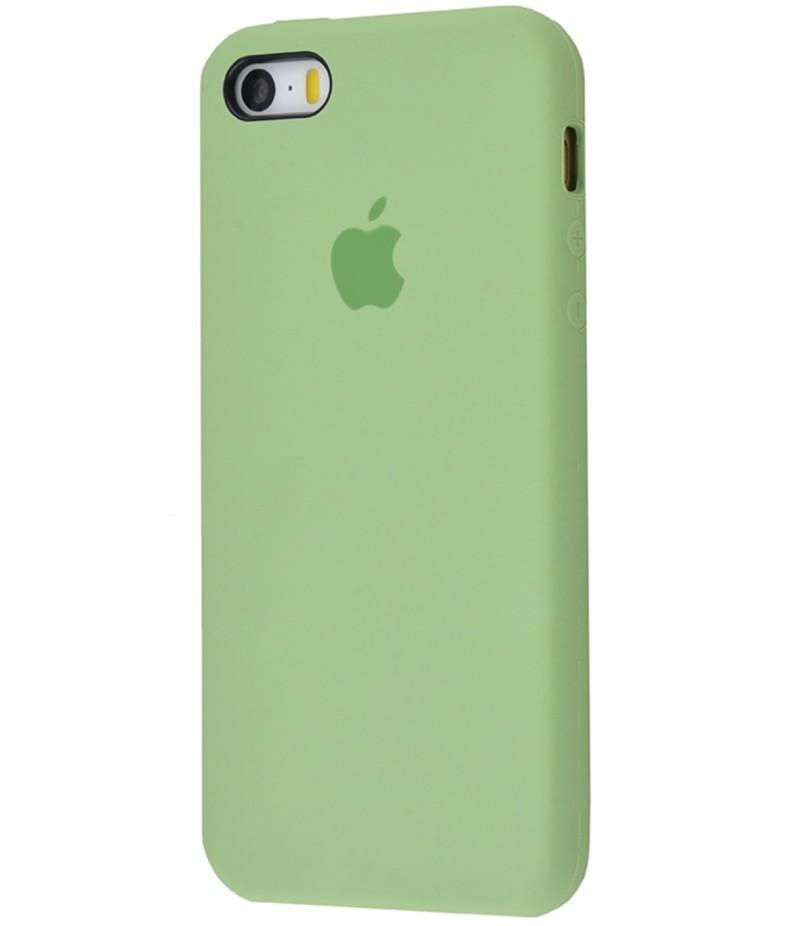 Original Silicone Case (Copy) for IPhone 5/5s/SE Mint Gum