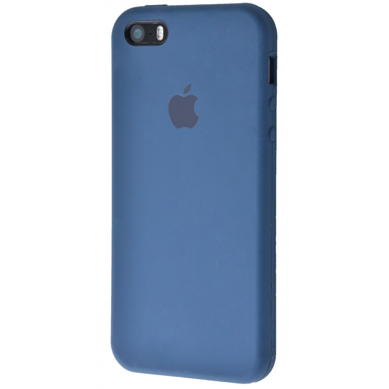 Original Silicone Case (Copy) for IPhone 5/5s/SE Ocean Blue