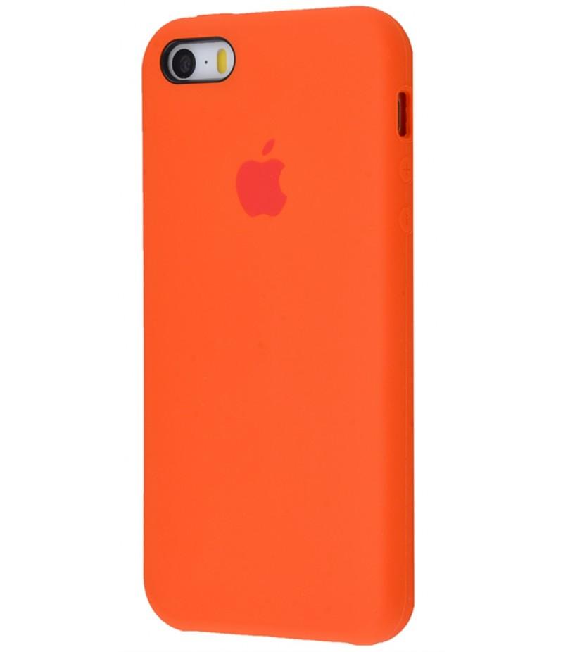 Original Silicone Case (Copy) for IPhone 5/5s/SE Orange