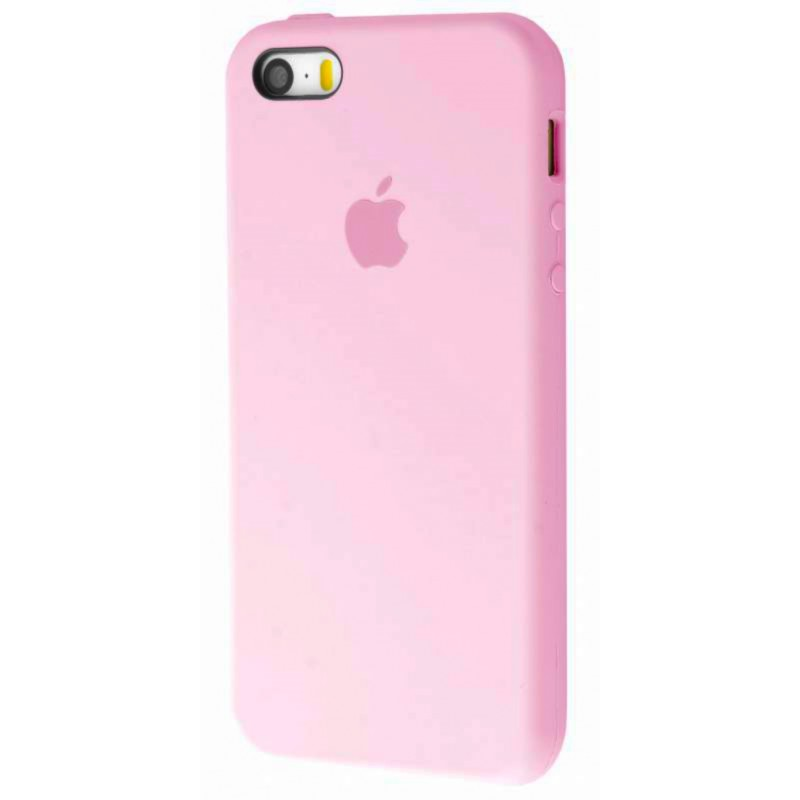 Original Silicone Case (Copy) for IPhone 5/5s/SE Pink