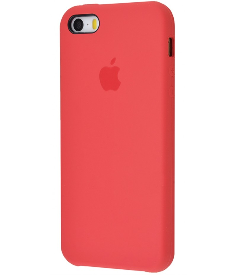 Original Silicone Case (Copy) for IPhone 5/5s/SE Red