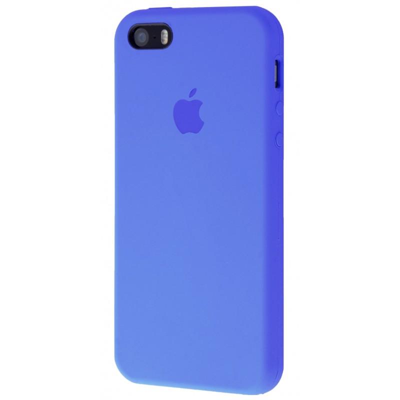 Original Silicone Case (Copy) for IPhone 5/5s/SE Tahoe Blue