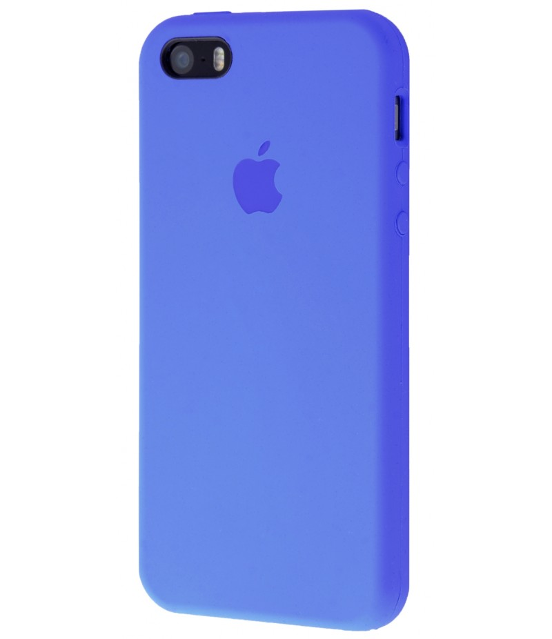 Original Silicone Case (Copy) for IPhone 5/5s/SE Tahoe Blue