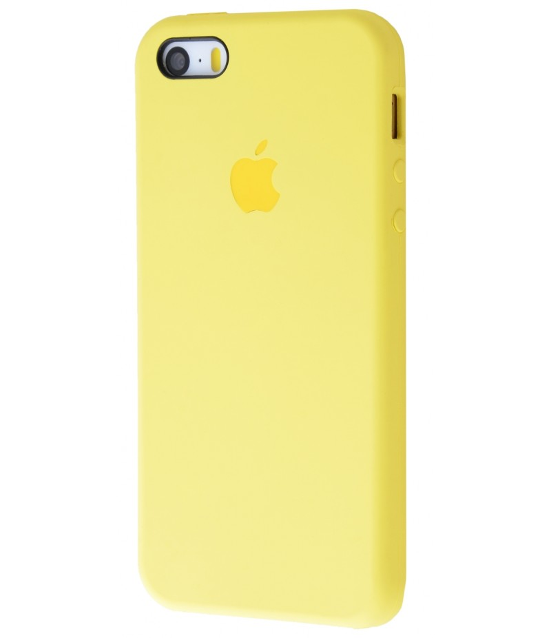Original Silicone Case (Copy) for IPhone 5/5s/SE Yellow