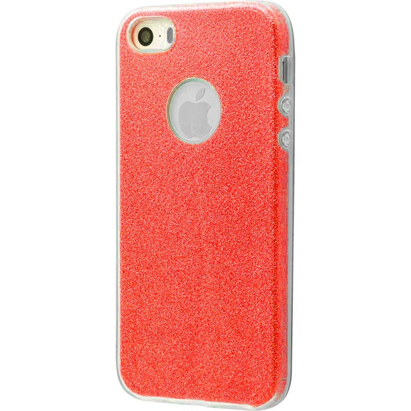 Удароміцний чохол Shining Glitter iPhone 5 red