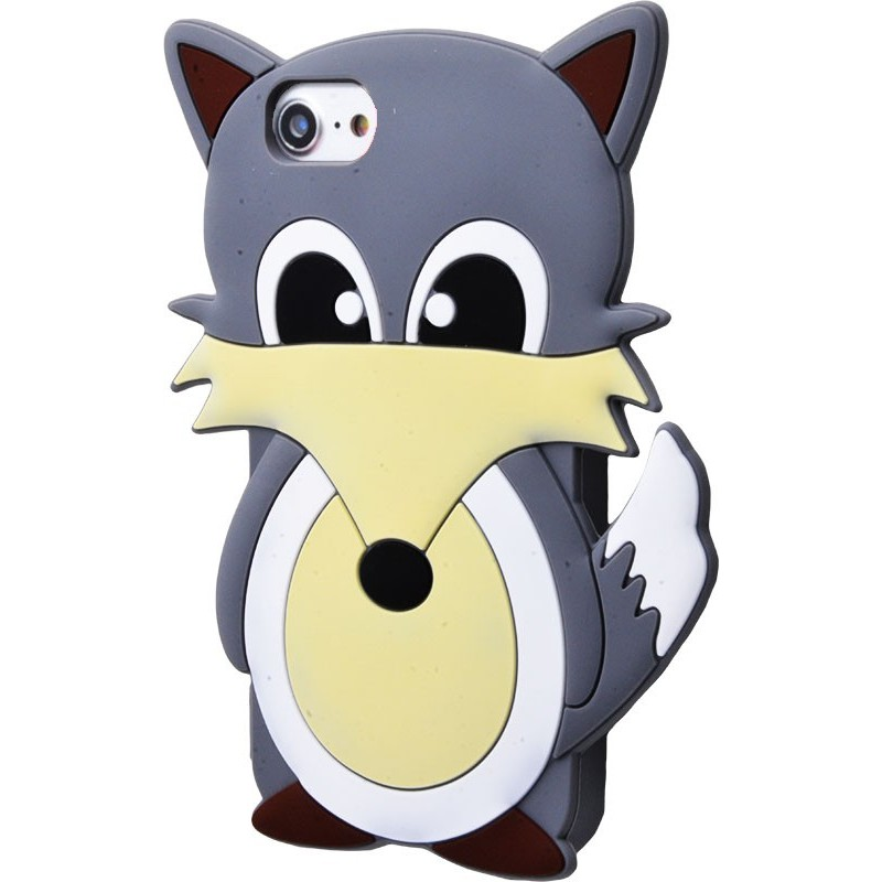 3D чохол Fox iPhone 6/6s/7/8 grey