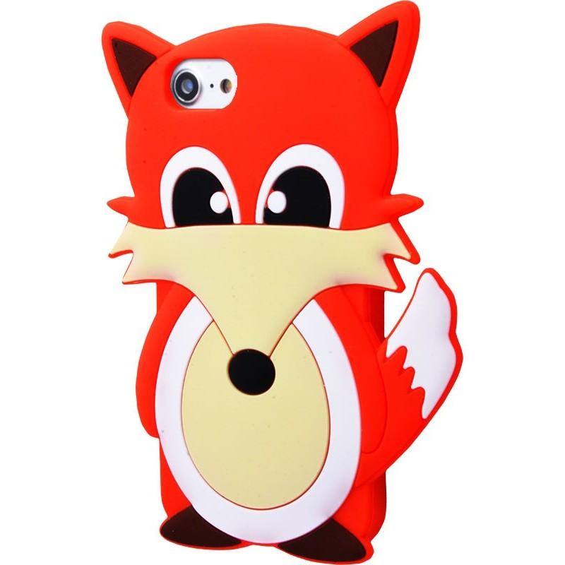 3D чохол Fox iPhone 6/6s/7/8 red