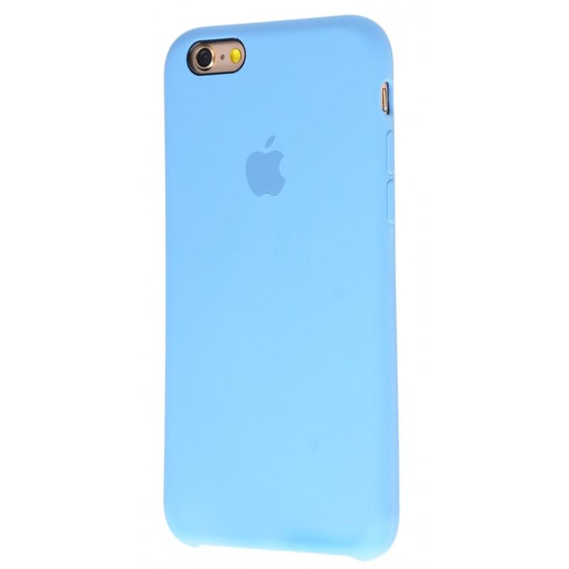 Original Silicone Case (Copy) for iPhone 6/6s Azure