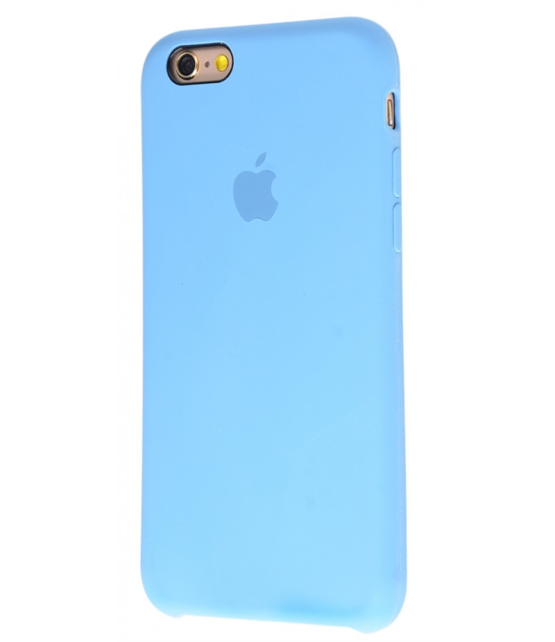 Original Silicon Case(copy) iphone 6 azure