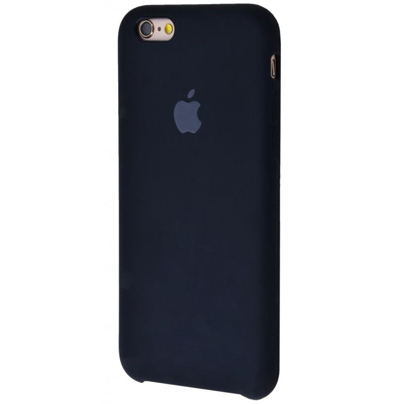 Original Silicone Case (Copy) for iPhone 6/6s Black